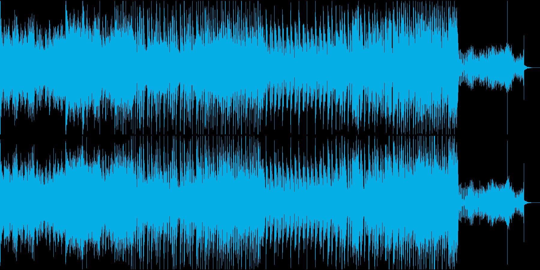 癖のあるEDMの再生済みの波形