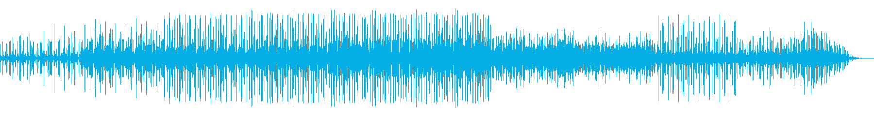 ダウンテンポのダブ系ビートです。の再生済みの波形