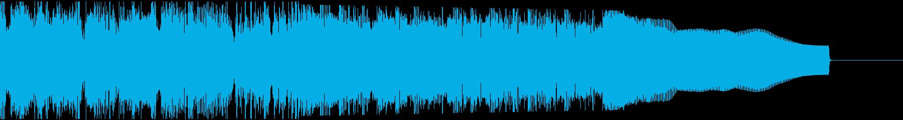 カントリー風ギターイントロ−06Dの再生済みの波形
