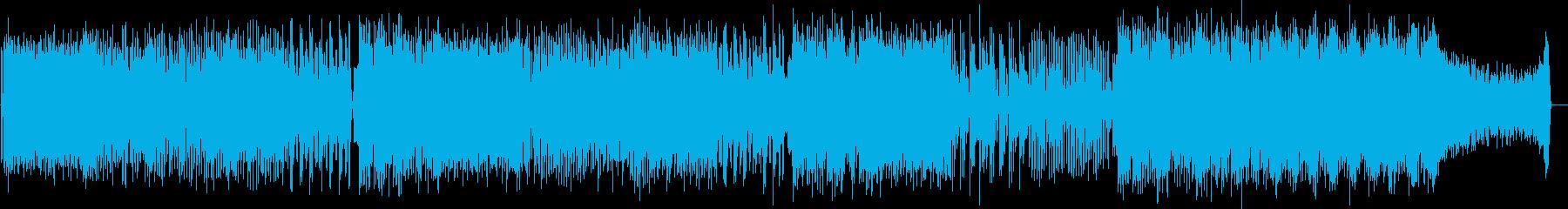 ホリデイの再生済みの波形