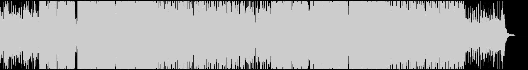ドローン壮大ピアノ洋楽風の未再生の波形