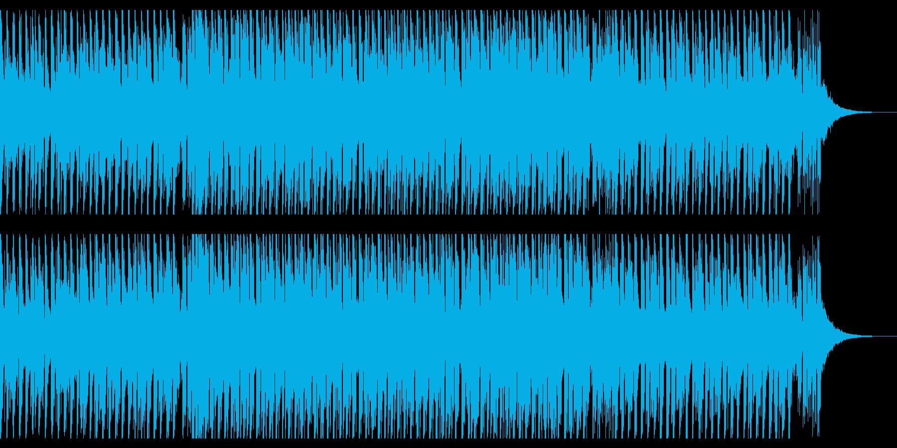 ダンスミュージック(ショート2)の再生済みの波形