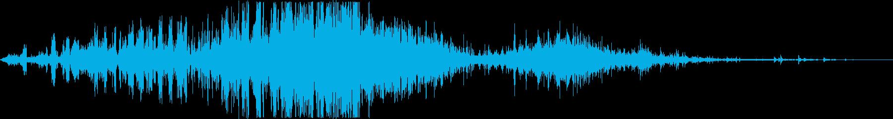 ヒュルヒュル、ドドん、パシャっ!!の再生済みの波形