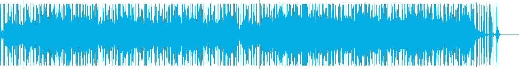 不気味・怪奇を思わせるホラーBGM Aの再生済みの波形