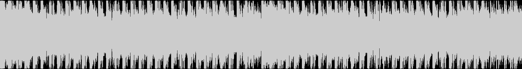 最先端のトレンドを取り入れたBGMの未再生の波形