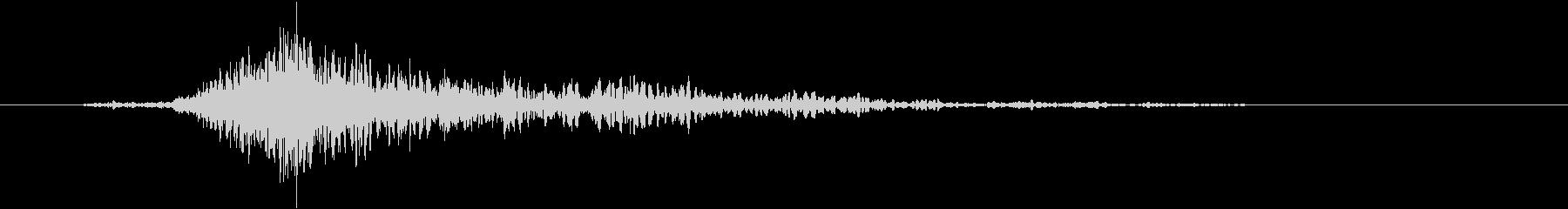斬撃 ファイヤーイグナイトスモール01の未再生の波形