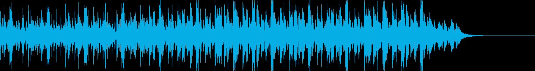 Pf「議案」和風現代ジャズの再生済みの波形