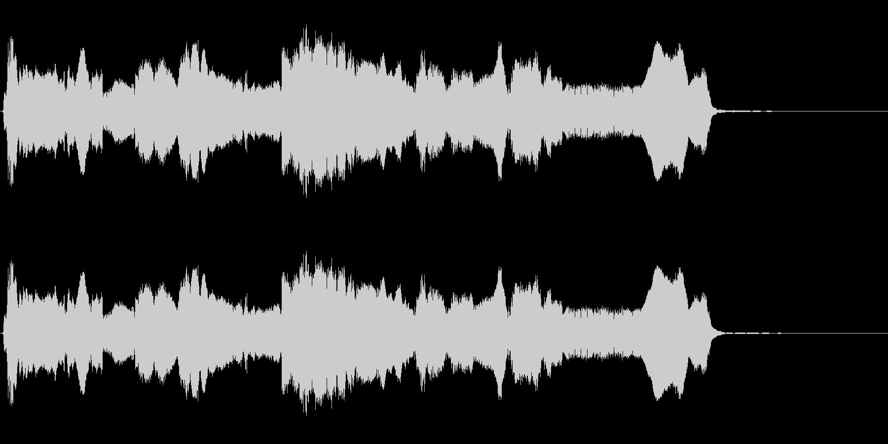 HURDY GURDY:ハイピッチ...の未再生の波形