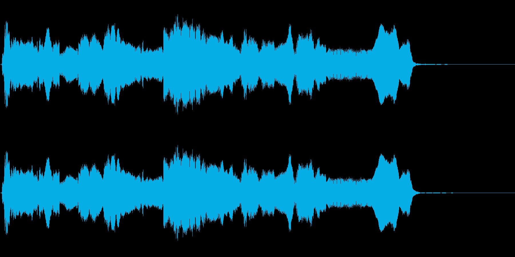 HURDY GURDY:ハイピッチ...の再生済みの波形