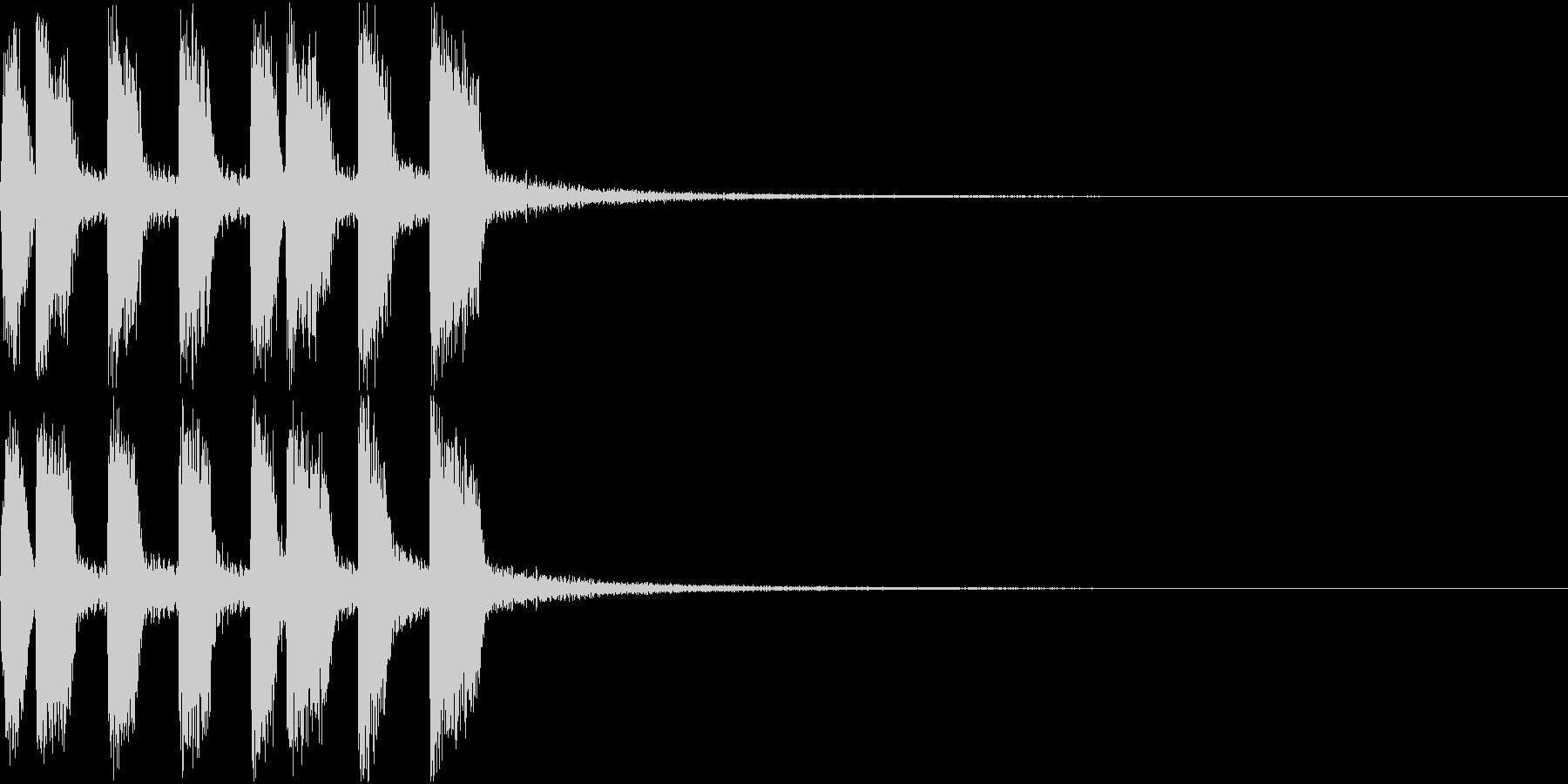 アイテム ファンファーレ ゲット音 3の未再生の波形