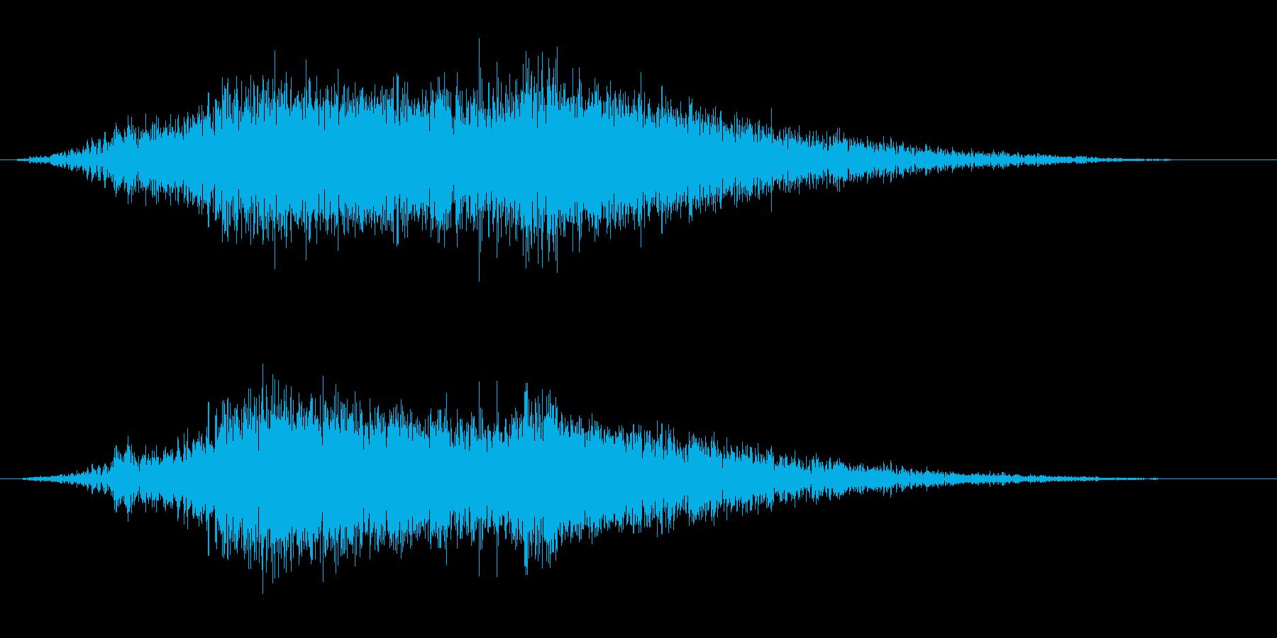 衝撃 ディストーションブラスト08の再生済みの波形