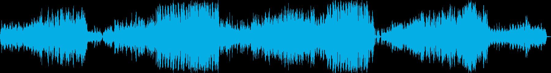 広大な美しい響きの感動的ストリングス音楽の再生済みの波形