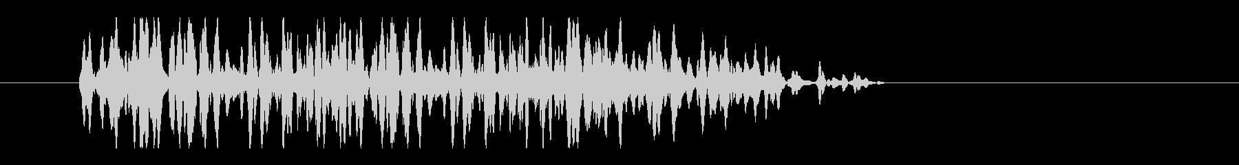 レーザー音-33-3の未再生の波形