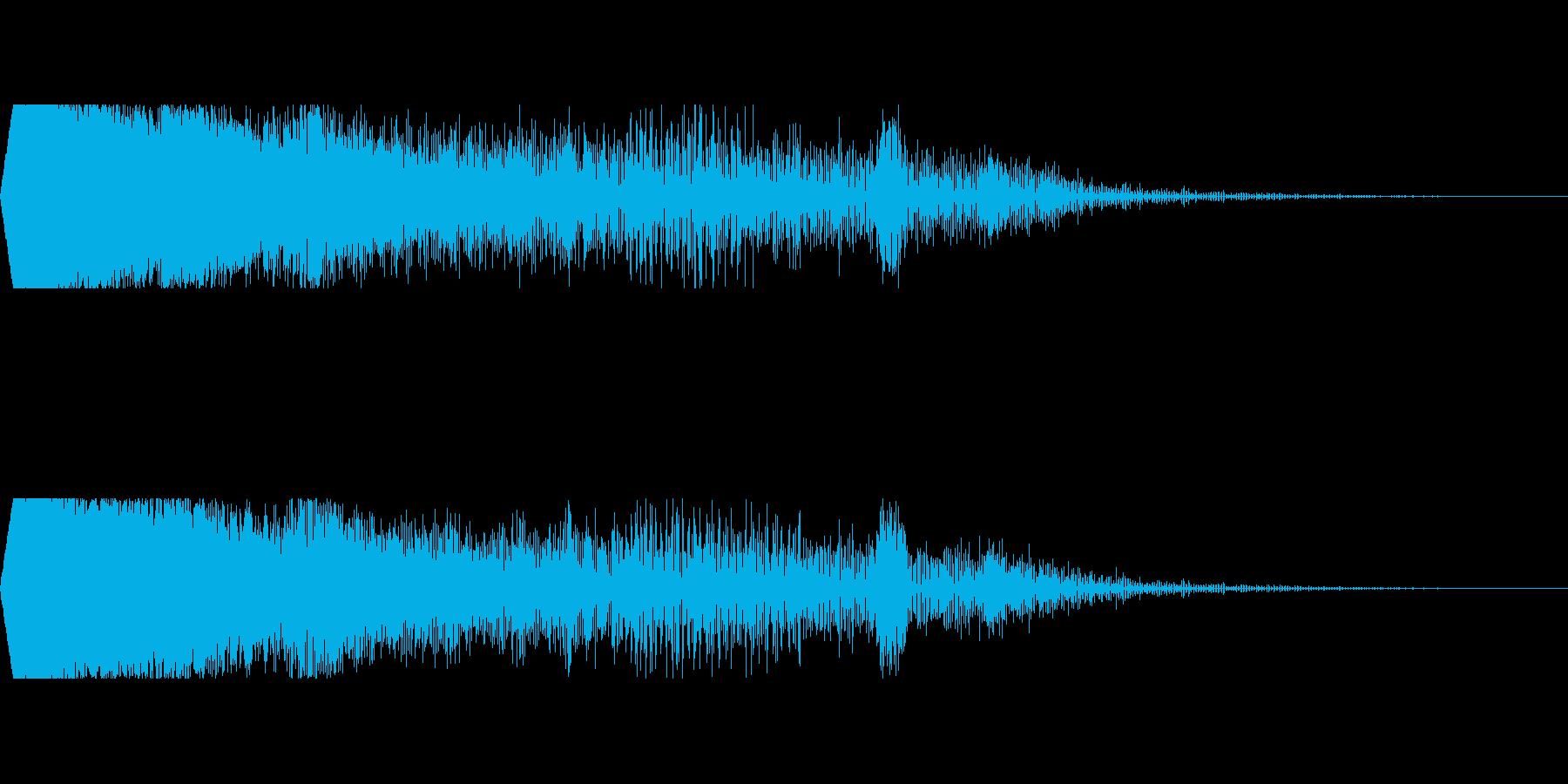 ZIP DOWN HIT 2の再生済みの波形