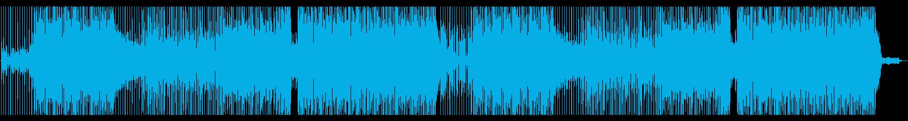 異国な雰囲気のフルートメロディの再生済みの波形