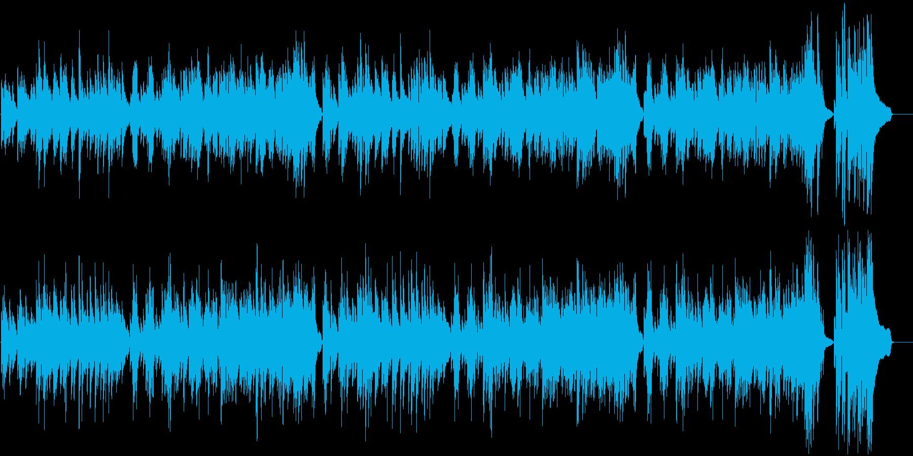 優雅で上品なクラシック風ワルツピアノソロの再生済みの波形