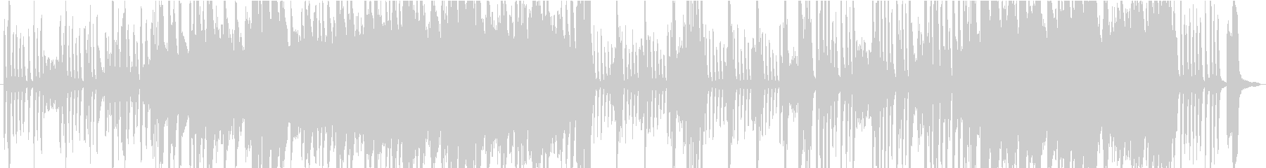 伝統的 ジャズ ビバップ ラテン ...の未再生の波形
