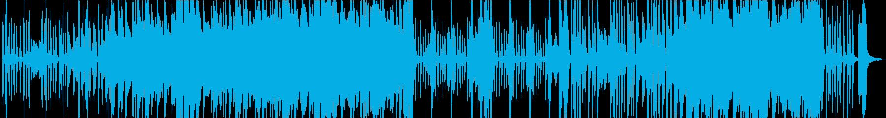 伝統的 ジャズ ビバップ ラテン ...の再生済みの波形