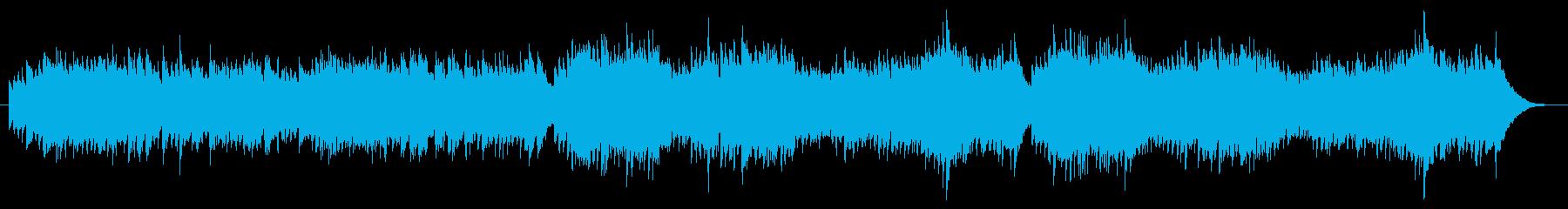 リズミカルで可愛らしいピアノ曲の再生済みの波形