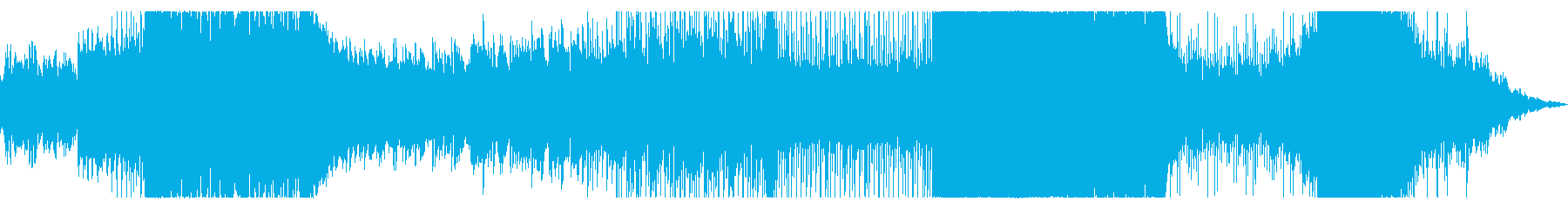 幻想的でどこか切ないピアノとブラスの曲の再生済みの波形