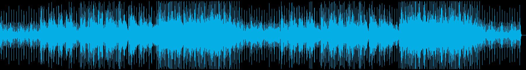 モーニングルーティンに アコギのポップスの再生済みの波形