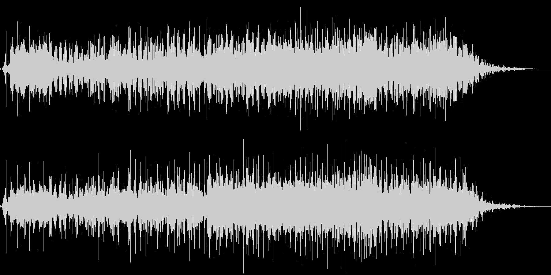 生音アリ-かわいらしくブキミなハロウィンの未再生の波形