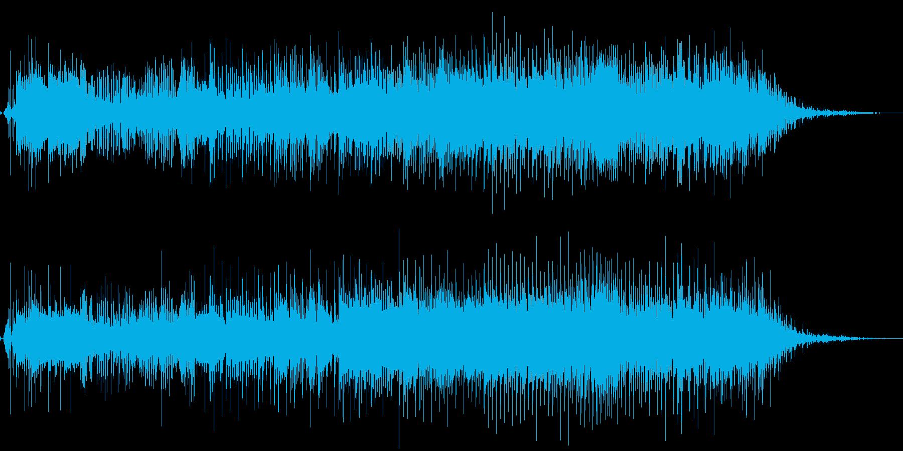 生音アリ-かわいらしくブキミなハロウィンの再生済みの波形