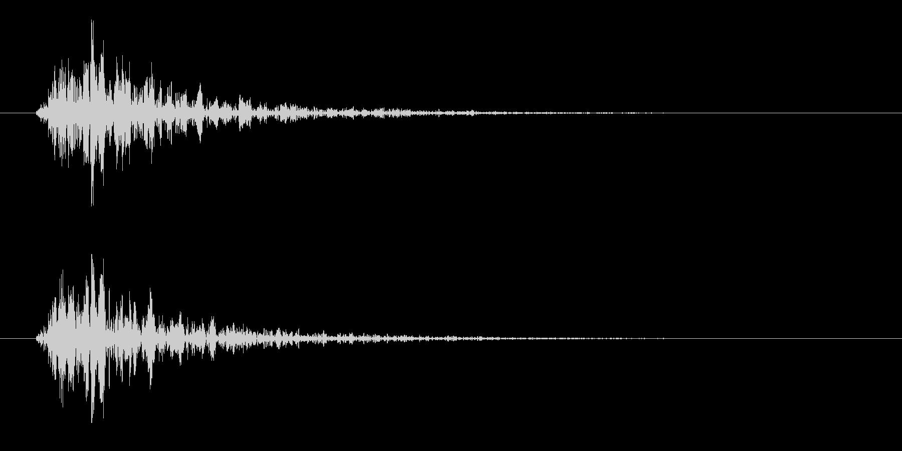167_通り過ぎる1の未再生の波形