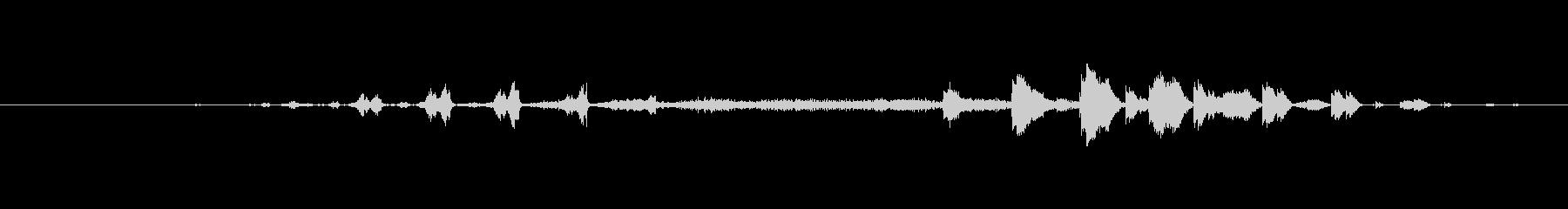 特撮 スイープラトルクリック01の未再生の波形