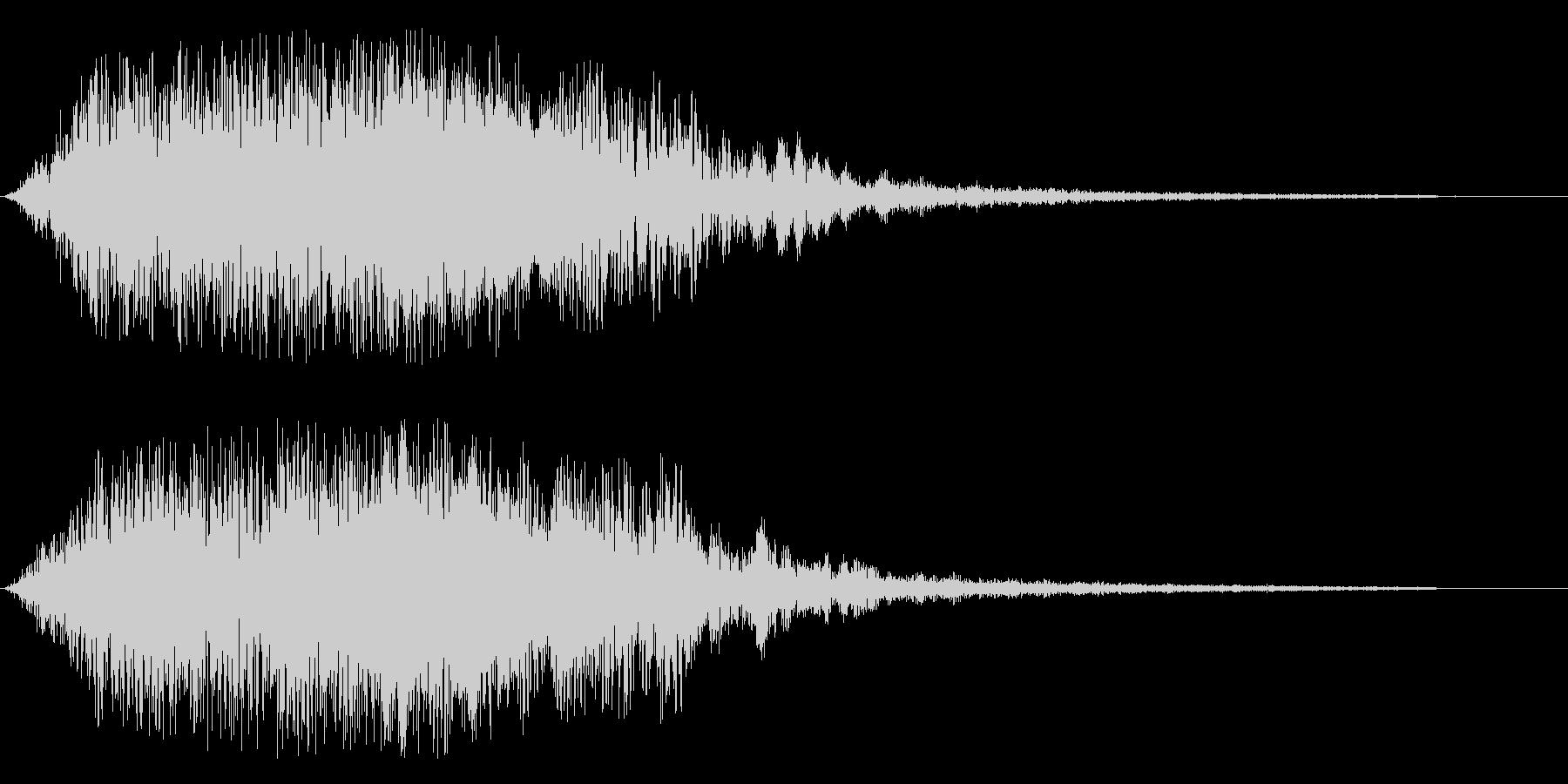 ジャララ系(エレクトリック・アップ系)の未再生の波形