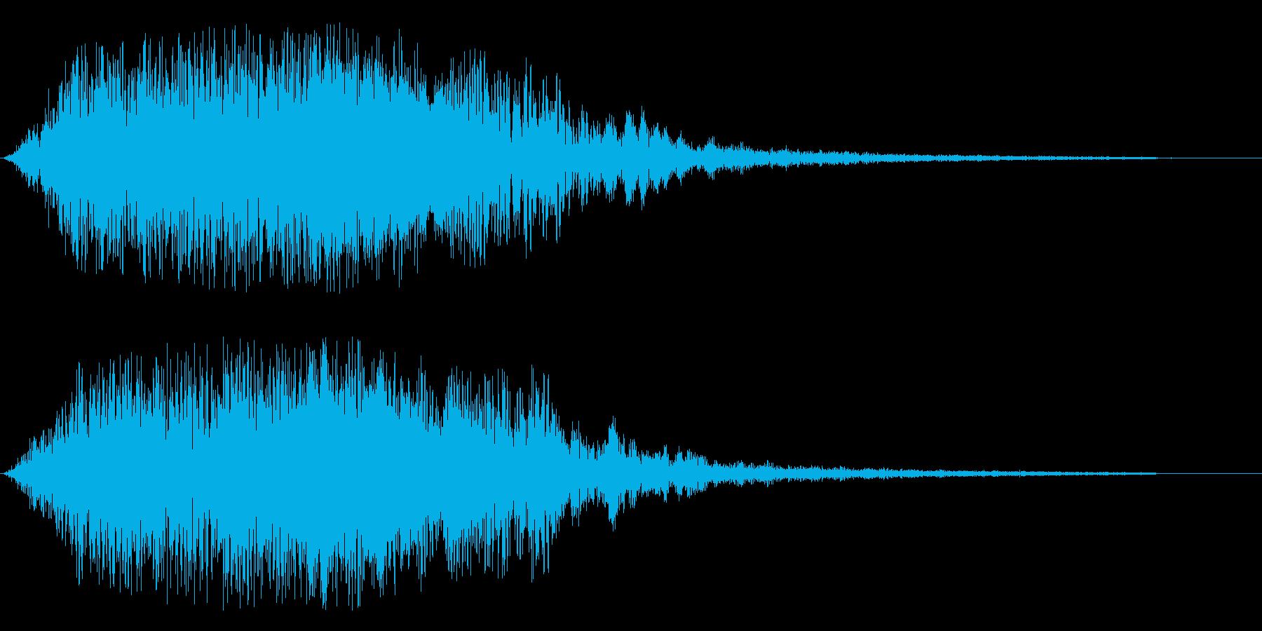 ジャララ系(エレクトリック・アップ系)の再生済みの波形