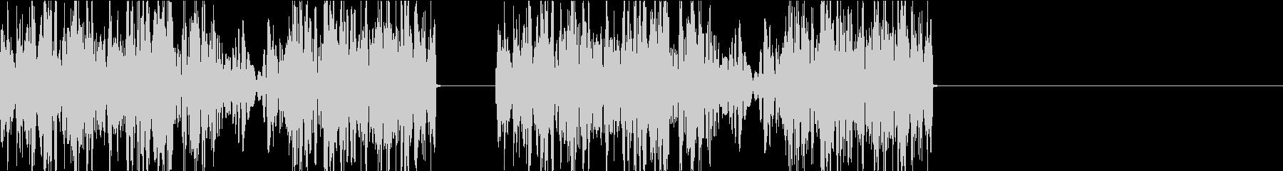 DJプレイ スクラッチ・ノイズ 152の未再生の波形