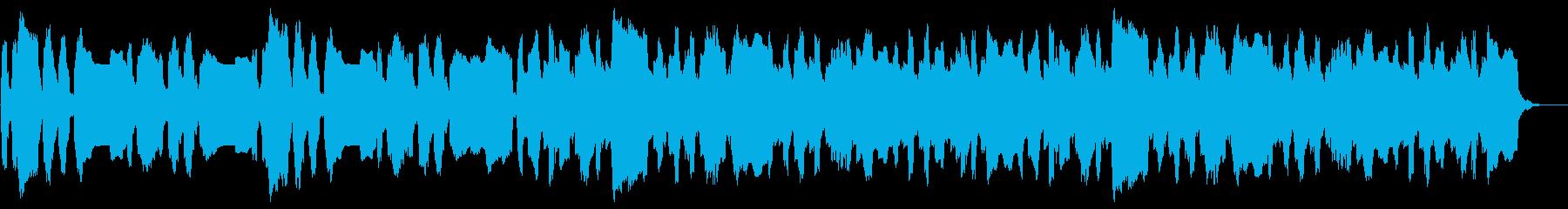ほのぼの コミカルなBGM のどか 愉快の再生済みの波形