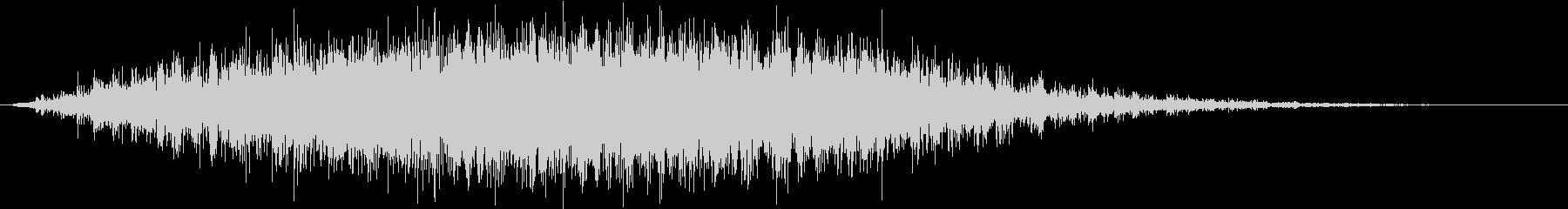 パンドラトルバックの未再生の波形