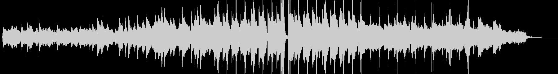 渋めのジャズサックスの未再生の波形