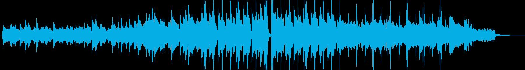 渋めのジャズサックスの再生済みの波形