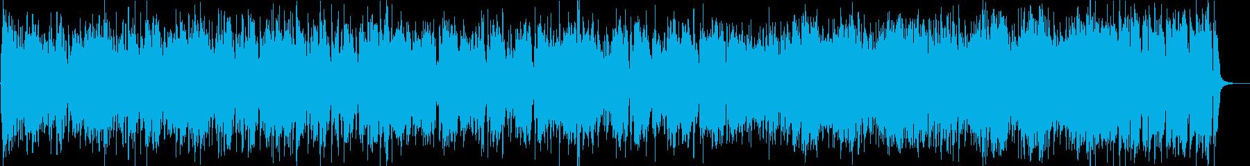 速く、エネルギッシュで、独創的で複...の再生済みの波形