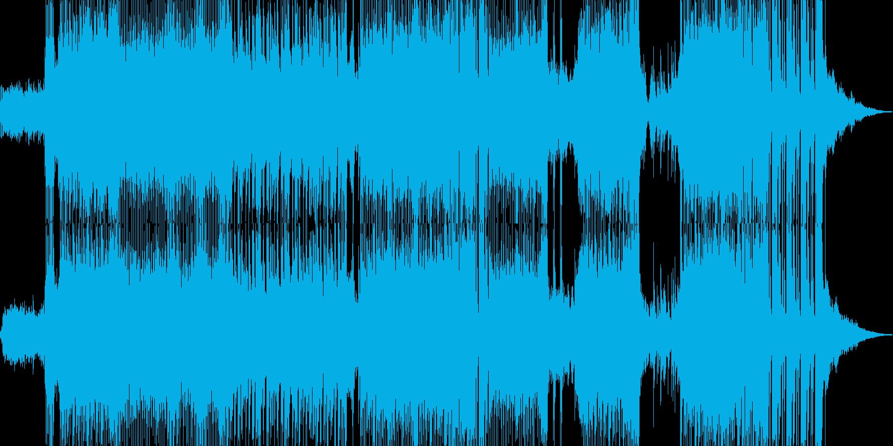 ハッピーな演出を彩るテクノ ★の再生済みの波形