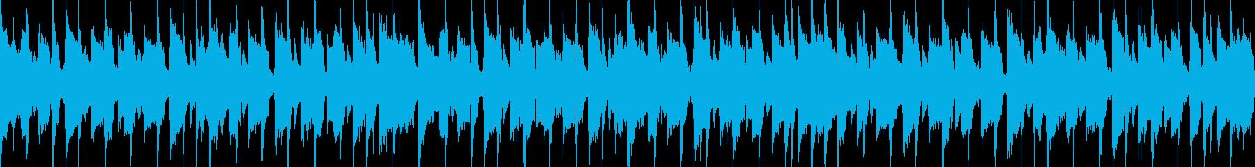 ポップエレクトロ楽器。弾む幸せな楽しい。の再生済みの波形