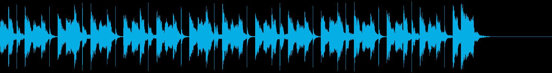 ほのぼのとした日常向けのBGM。の再生済みの波形