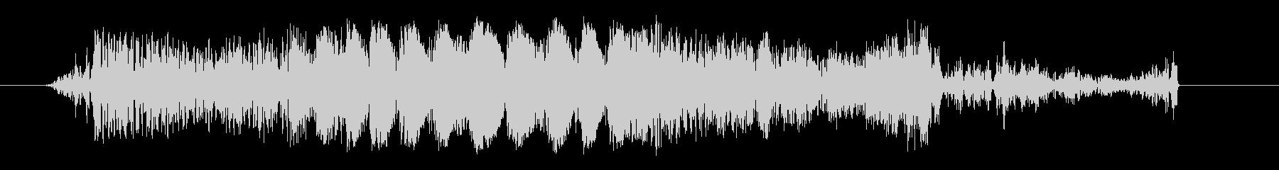 クイックガーブルカットトランジション1の未再生の波形