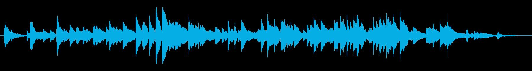 思い出シーンの微妙な気持ち転換を表現す…の再生済みの波形