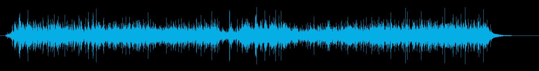 木の実 ガラガラ カサカサ リバーの再生済みの波形