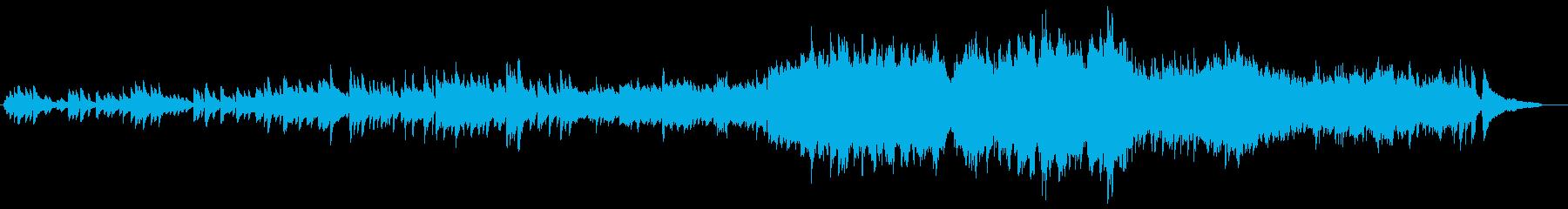 旅の途中に聴きたい爽やかな曲の再生済みの波形