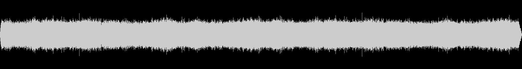 クマゼミの鳴き声-2の未再生の波形