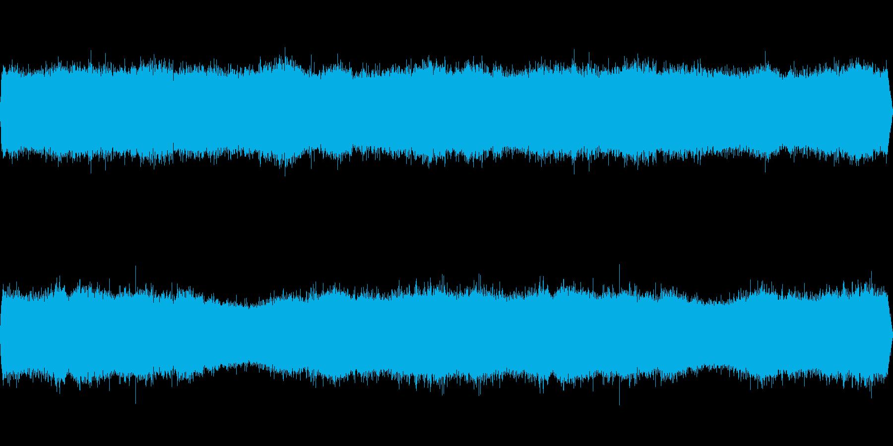 クマゼミの鳴き声-2の再生済みの波形
