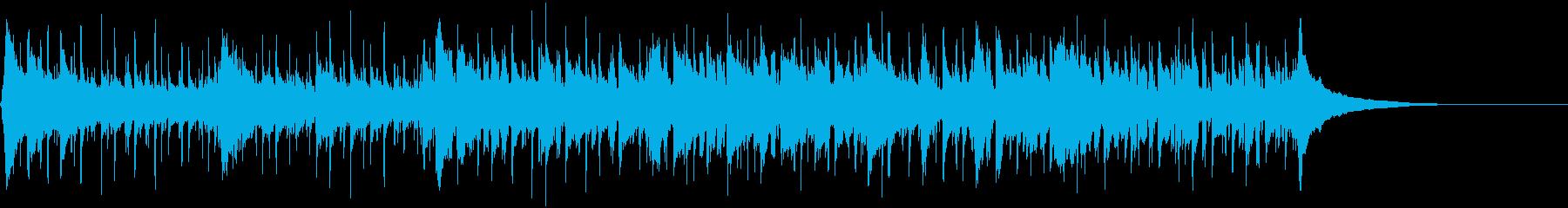 生アコギ使用 爽快で晴れ渡る空的な曲ですの再生済みの波形