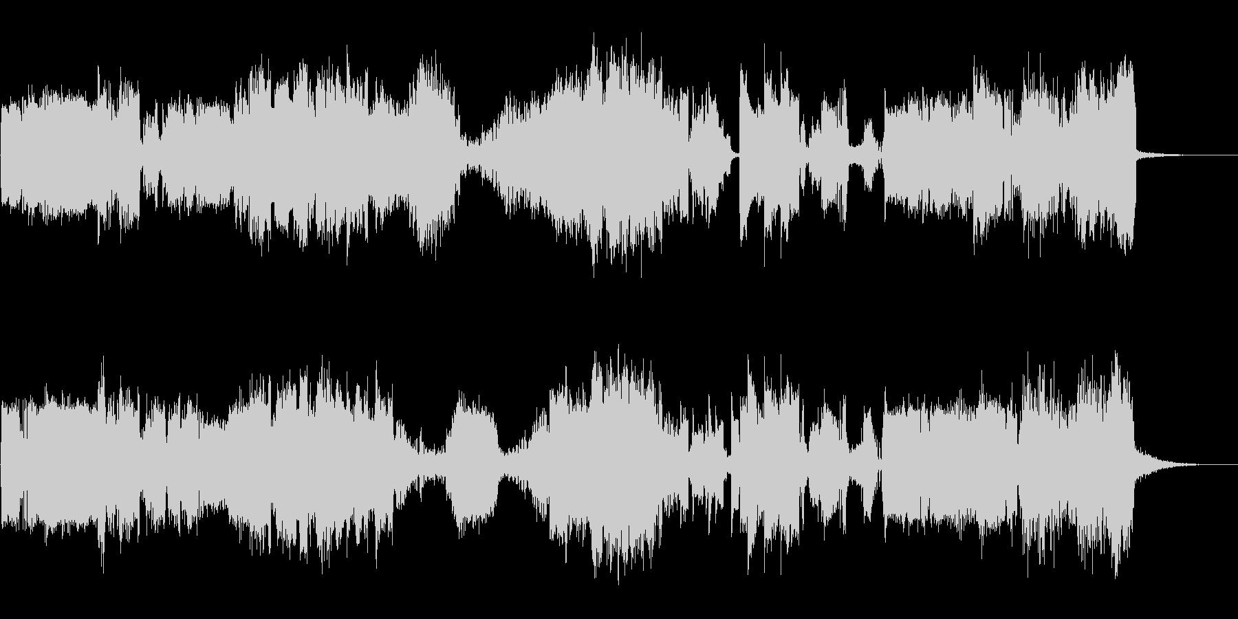 オーディオカオスの未再生の波形