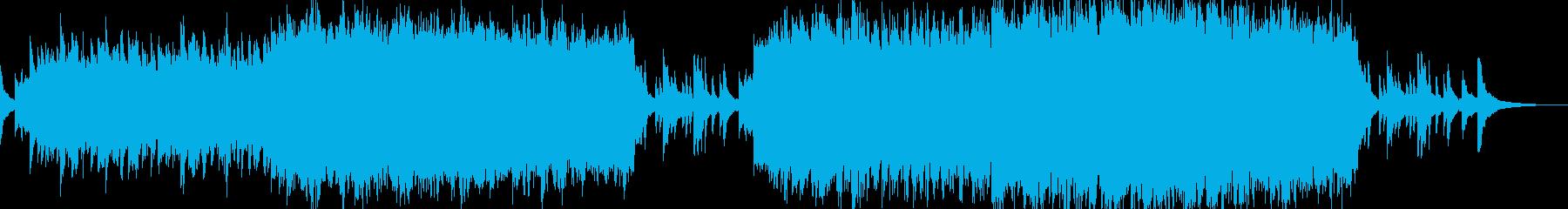 悲しくも美しい壮大なバラード系BGMの再生済みの波形