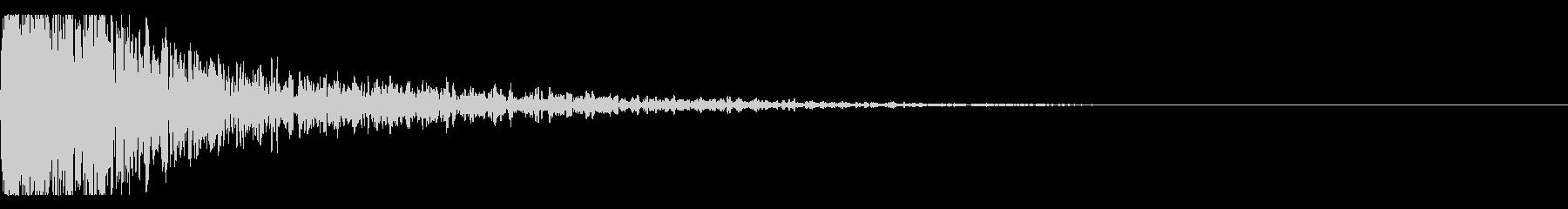 メタルヒット、シネマティック、ベルの未再生の波形
